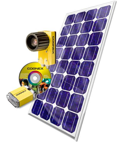 Product News: Cognex Vision Tools for Solar Cell Inspection