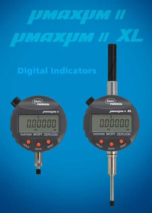 Mahr Digital Indicators : µmaxµm digital indicators featured at eastec