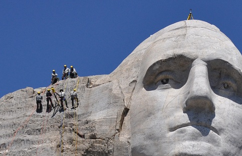 International Team Scans Entire Mount Rushmore in 3-D | Quality Digest