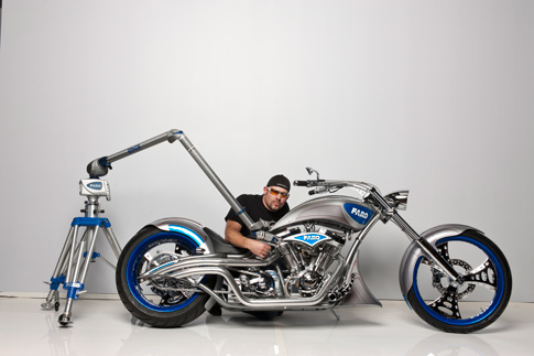 paul jr designs motorcycle hits the road with faro. Black Bedroom Furniture Sets. Home Design Ideas