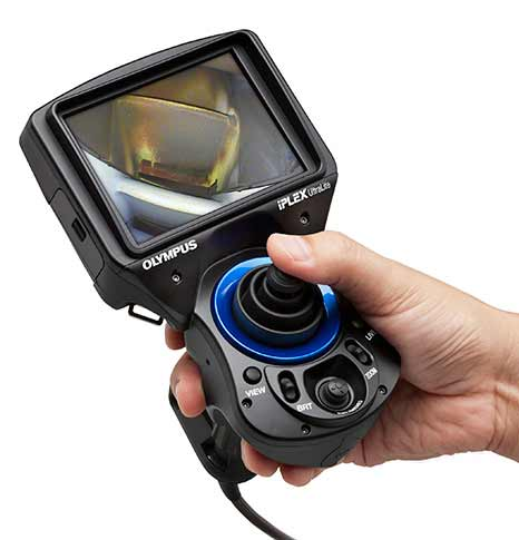 Olympus Introduces Palm Sized Iplex Ultralite Videoscope