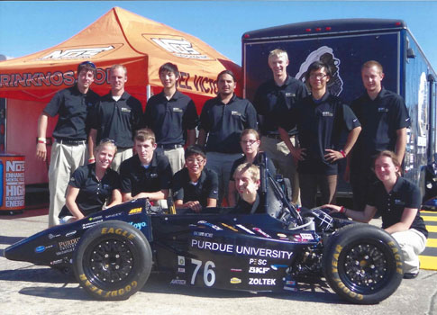 Auto Racing Digest on Purdue Auto Engineering Team Pursue Racing Dream   Quality Digest