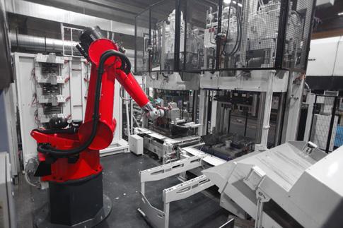 Measurable Energy Savings In Die Casting Automation