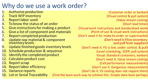 Why Do We Need Work Orders?