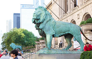 Exact Metrology Scans Lion at Chicago Art Institute | Quality Digest