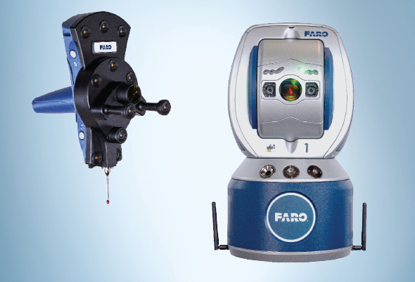 Faro Introduces Six Degrees Of Freedom Laser Tracker Platform Quality Digest