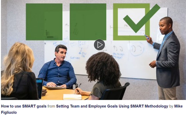 SMART goals training