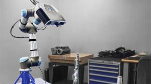 FARO Cobalt Imager Mounted on Robotic Arm