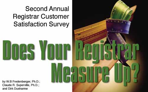 Does Your Registrar Measure Up